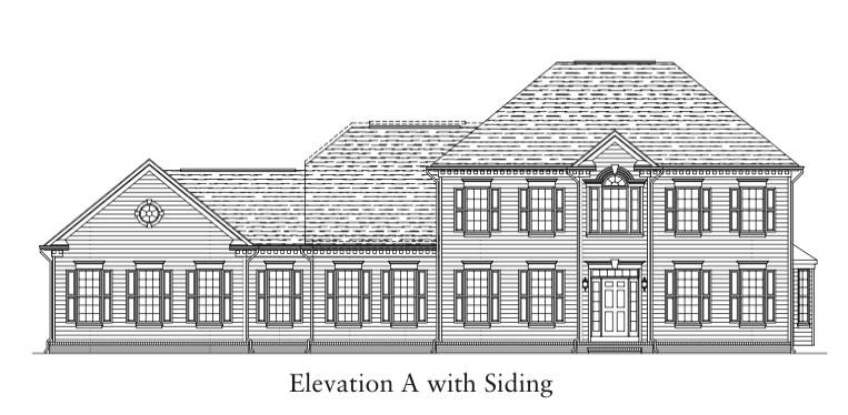 Glenmore Elevation A with Siding